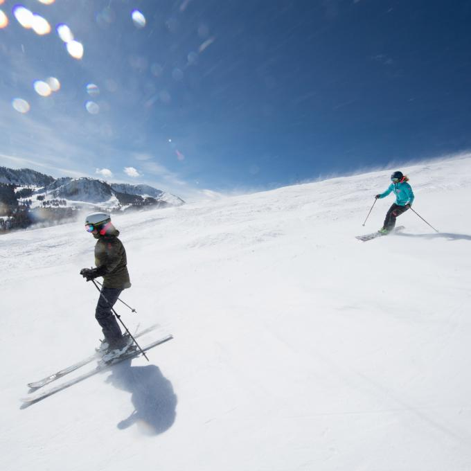 Skiing in Park City, Utah