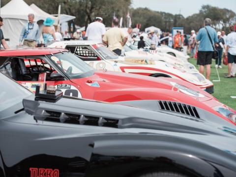 Concours d'Elegance car show in Amelia Island, Florida