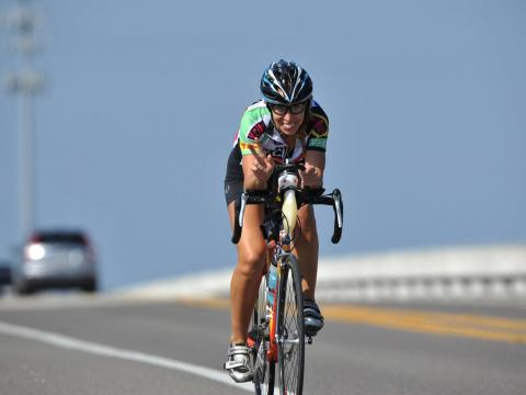 The Katie Ride for Life bicycle event in Amelia Island, Florida