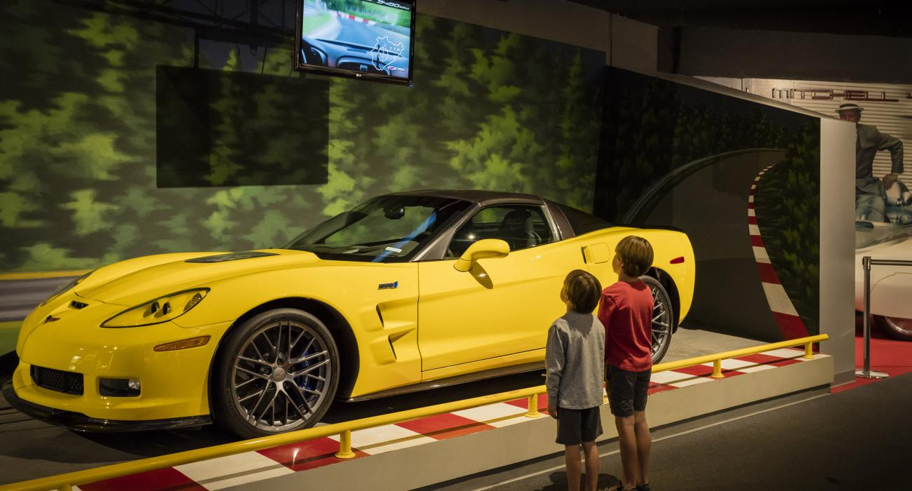 National Corvette Museum >> Bowling Green Kentucky Attractions Events And Things To Do