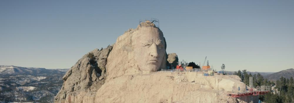 Crazy Horse Memorial near Custer, South Dakota