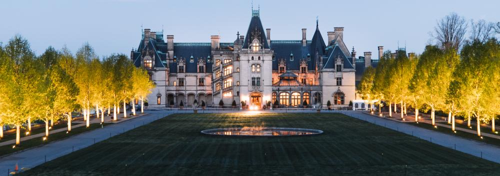 The sprawling, historic Biltmore Estate in Asheville